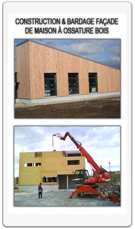 Michel dru sarl entreprise de charpente couverture for Entreprise de construction maison en bois